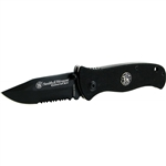 Smith & Wesson QUICK RESPONDER Serrated Knife CKG101BS