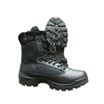 Tru-Spec Tactical Side Zipper Boots - Black
