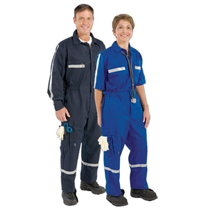 Pro-Tuff Over-The-Clothes Fit One-Piece Short Sleeve Uniform Suit