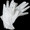Latex Exam Gloves: Large