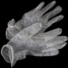 Powder Free  Vinyl Exam Gloves: Medium