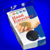 Thera-Band Hand Exerciser: extra firm black