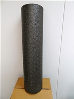 "Black Molded High Density Whole Roll 6"" x 24"""