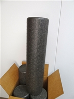 "4-pack Black Molded High Density Whole Roll 6"" x 24"""