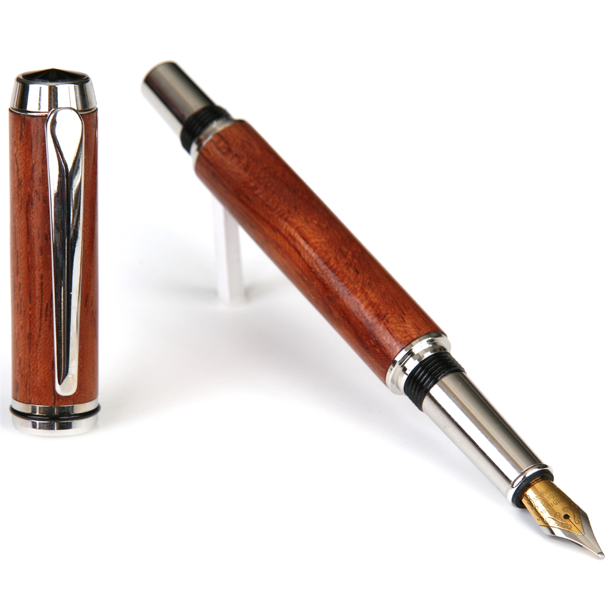 Baron Fountain Pen - Pommele Bubinga