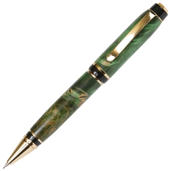 Cigar Twist Pencil - Green Maple Burl