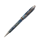Designer Twist Pen - Blue Box Elder