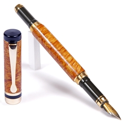 Classic Fountain Pen - Yellow Box Elder