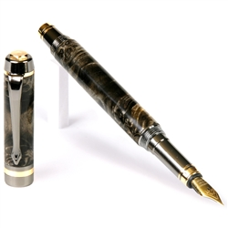 Classic Elite Fountain Pen - Buckeye Burl