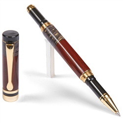 Classic Rollerball Pen - Cocobolo with Black Box Elder