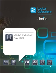 LogicalCHOICE  Adobe Photoshop CC: Part 1 Print/Electronic Training Bundle-Student