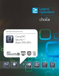 LogicalCHOICE CompTIA Security+ (Exam SY0-401) Print/Electronic Student Training Bundle