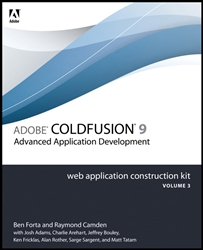 Adobe ColdFusion 9 Web Application Kit