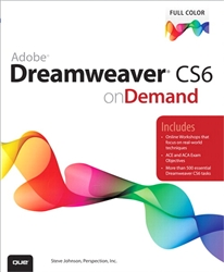 Adobe Dreamweaver CS6 on Demand