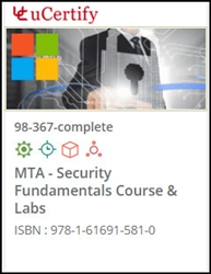 MTA: Security Fundamentals (98-367) Lab and Courseware