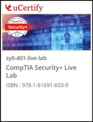 CompTIA Security+ (SY0-401) Live Lab
