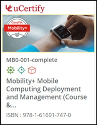 CompTIA Mobility+ (MB0-001) Lab and Courseware