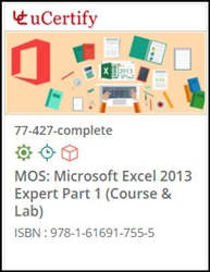 MOS: Microsoft Excel 2013 Expert Part 1 (77-427) Lab and Courseware