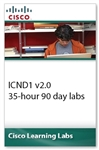Cisco Learning Labs for ICND1 v2.0 35-hour 90-day labs