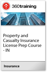 Property and Casualty Insurance License Prep Course - IN