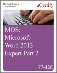 MOS: Microsoft Word 2013 Expert Part 2