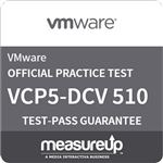 Official VCP5-Datacenter Virtualization (VCP5-DCV) Practice Test