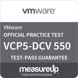VCP5-Datacenter Virtualization (VCP550) Practice Test
