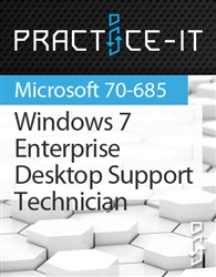 Windows 7, Enterprise Desktop Support Technician Practice Lab