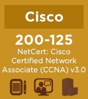 Cisco Practice Exam for 200-125 NetCert: Cisco Certified Network Associate (CCNA) v3.0