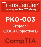PK0-003: Project+ 2009 Objectives