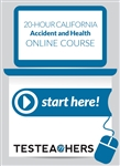 20 Hour California Accident and Health Online Course