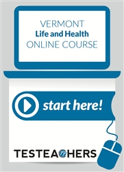 Vermont Life, Accident, Health and HMO Insurance Online Course