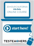 20 Hour California Life Online Course