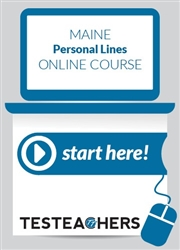Maine Personal Lines Online Course