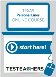 Texas Personal Lines Insurance Online Course