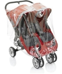 Baby Jogger City Mini Double PVC Free Rain Canopy