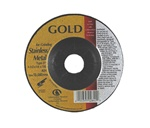 "Carbo GOLD 4-1/2"" x 1/4"" x 7/8"" Depressed Center Grinding Wheel Type 27"