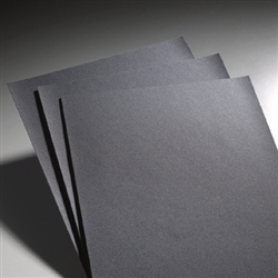 "Carbo 9"" x 11"" Silicon Carbide Waterproof Paper 240 Grit"