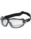 iNOX Challenger Series II - Clear Lens Safety Glasses w/ Clear Frame 12/Box