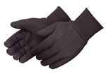 Industrial Heavy Weight Cotton Brown Jersey Gloves - Men's