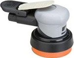 "Dynabrade 69000 3 1/2in Silver Supreme Orbital Air Sander 3/8"" Orbit"