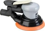 "Dynabrade 69009 5in Silver Supreme Central Vacuum Air Sander 3/8"" Orbit"