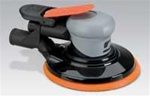 "Dynabrade 69014 6in Silver Supreme Central Vacuum Air Sander 3/8"" Orbit"