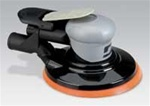 "Dynabrade 69029 6in Silver Supreme Central Vacuum Air Sander 3/16"" Orbit"