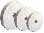 "Formax 6"" x 1/2"" Sisal Buffing Wheel 7ply"