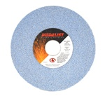 "Carborundum 7"" x 1/2"" x 1-1/4"" Toolroom Grinding Wheel Medalist Ceramic & A/O 60 Grit"