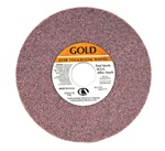 "Carborundum 7"" x 1/4"" x 1-1/4"" Toolroom Grinding Wheel GOLD A/O 46 Grit"