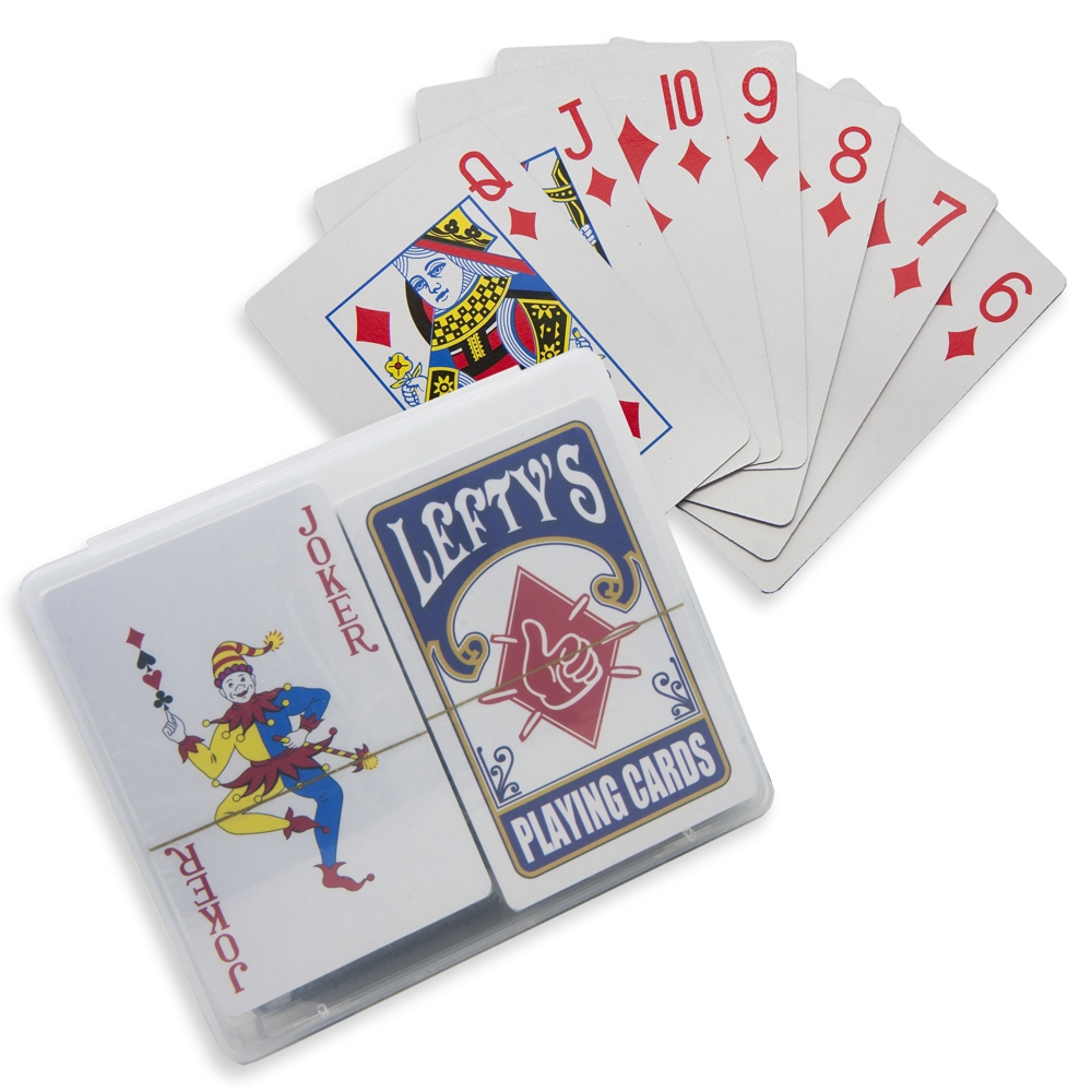 card game played with 3 decks of cards