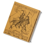 Left-Handed Wide Ruled Knight Notebook