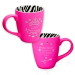 Hot Pink Left handed dribble mug